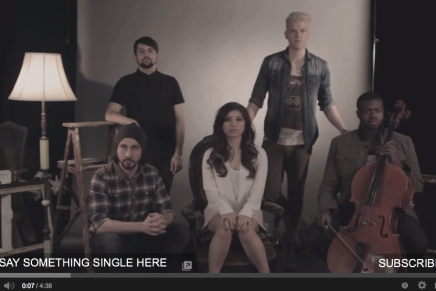 [Official Video] Say Something – Pentatonix